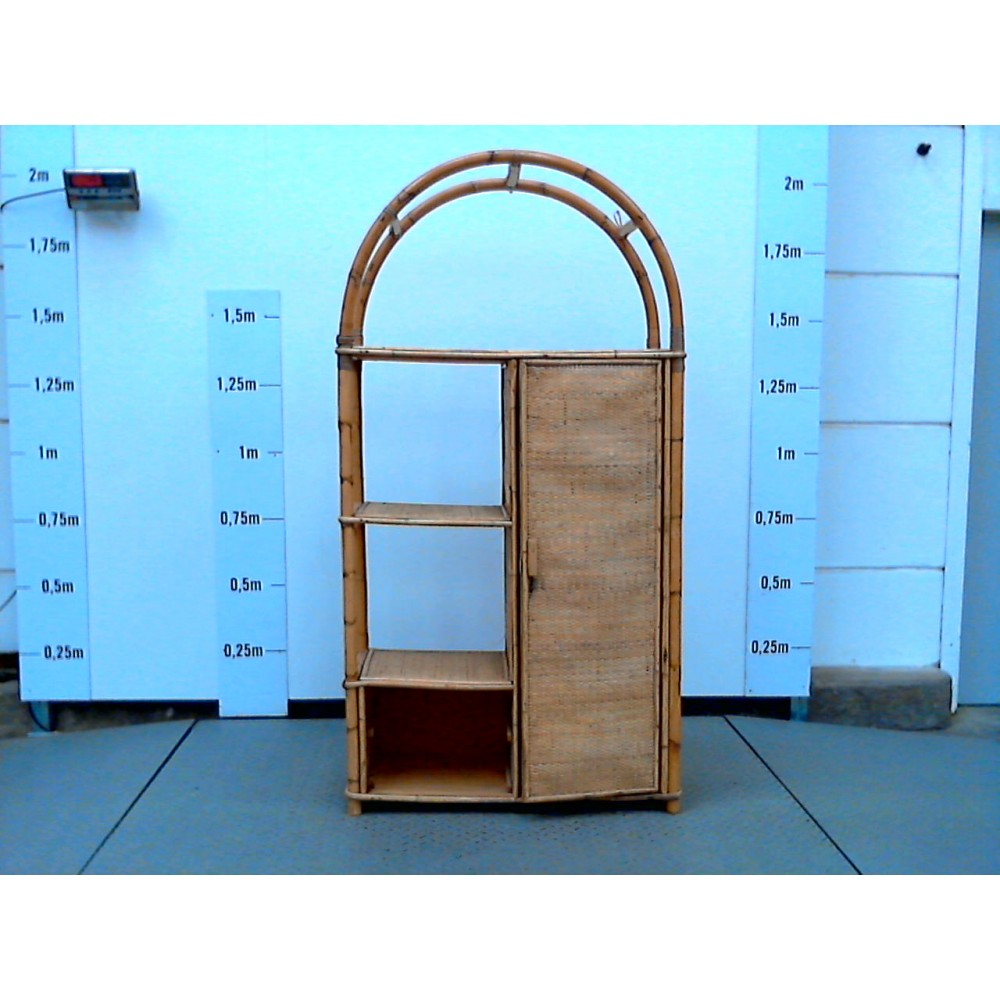 etagere penderie rotin - recyclerie calpe