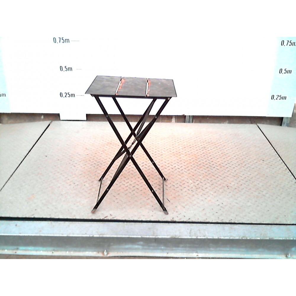 Table Jardin Fer Pliante Recyclerie Calpe